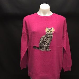 NEW JOULES cat sweater